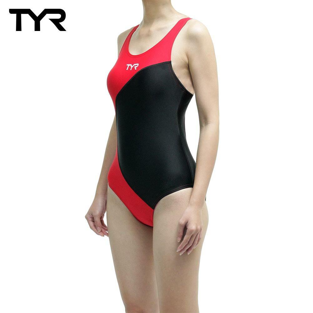 美國TYR女用修身款泳裝Adra Maxback Red 台灣總代理 - 限時優惠好康折扣