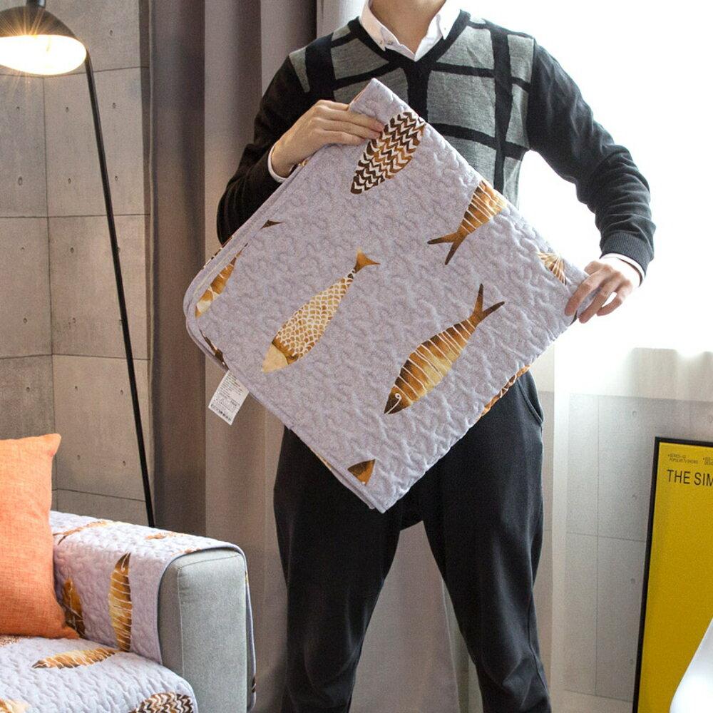 ✤宜家✤時尚簡約四季沙發巾 沙發墊防滑沙發套240 (70*150cm)