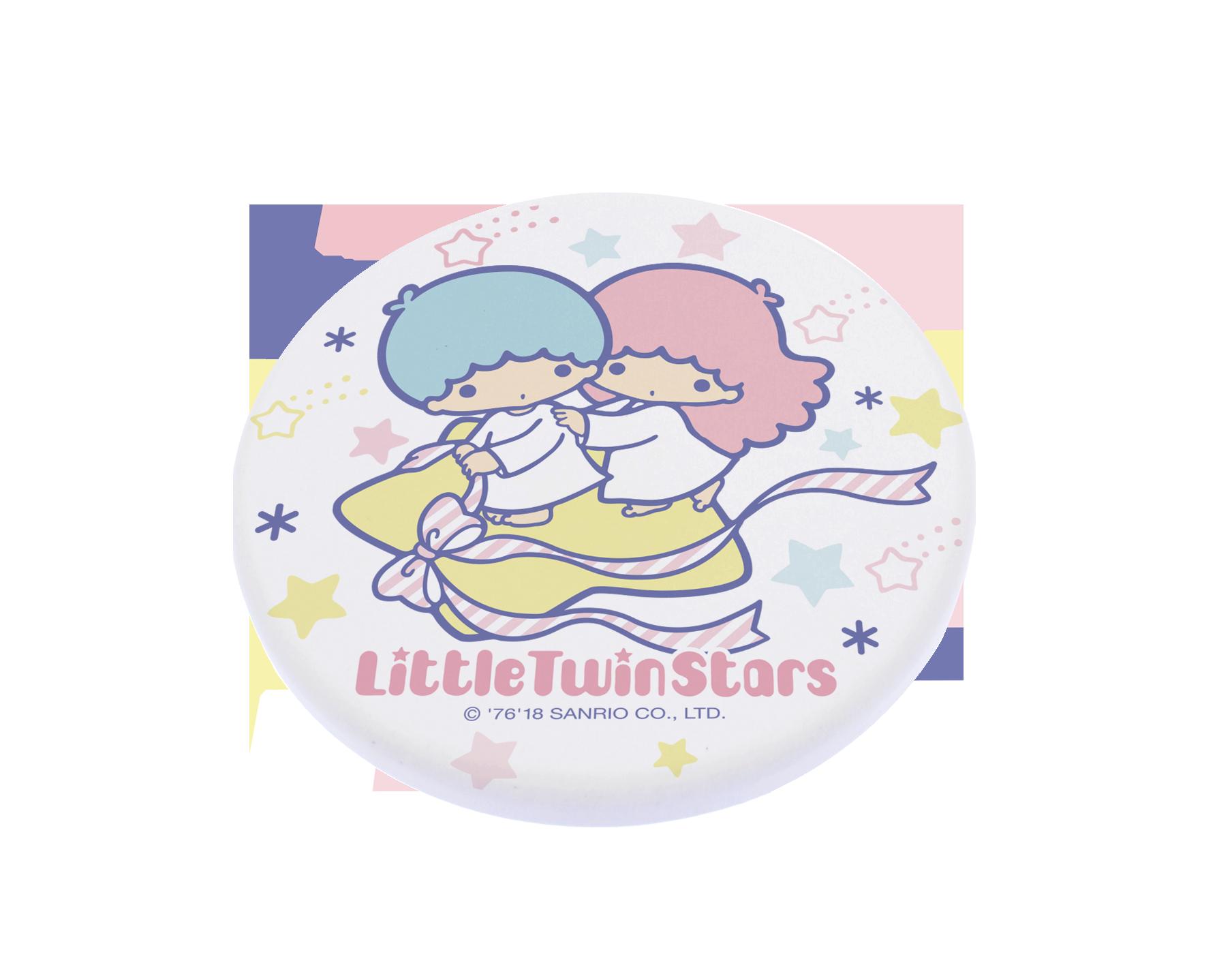 【買一送一】三麗鷗獨家授權 Sanrio 珪藻土吸水杯墊 雙子星 KIKI LALA 2