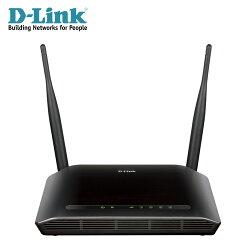 【D-Link 友訊】 DIR-612 Wireless N300 無線寬頻路由器 【加碼送發光USB充電頭】【三井3C】