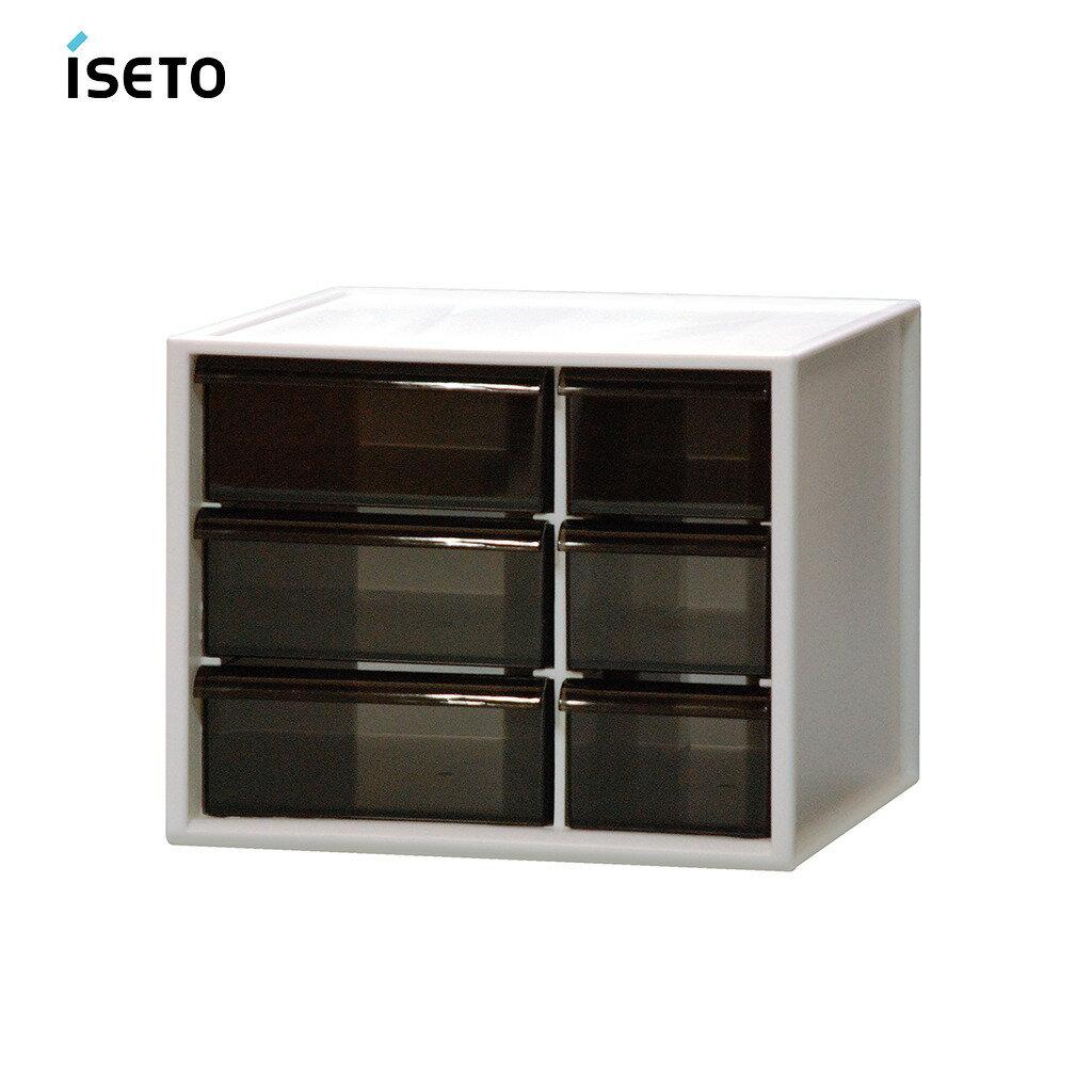 日本ISETO 桌上分類抽屜收納盒-L