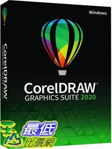 [9美國直購] pc 教育版 CorelDRAW Graphics Suite 2020 2021 Graphic Design Photo and Vector Illustration Softw