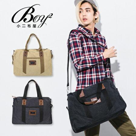 ☆BOY-2☆【NQA5082】手提包 機能兩用手提帆布側背包 0