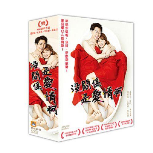 沒關係 是愛情啊DVD (全16集/4片裝/雙語) 趙寅成/孔孝真/李光修