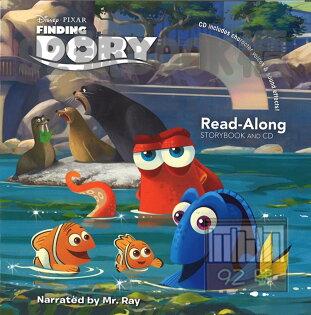 92號BOOK櫃-參考書專賣店:FindingDory海底總動員2:多莉去哪兒(CD有聲書)