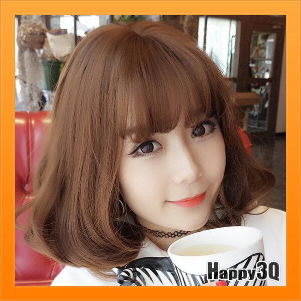 梨花頭髮假髮造型女生短髮假髮COSPLAY可造型短髮變裝PARTY-多色【AAA4351】