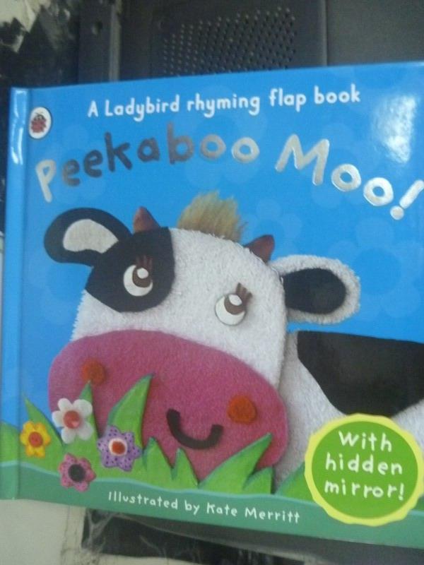 ~書寶 書T7/少年童書_IDL~Peekaboo Moo^!_Mandy Ross