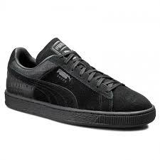 SneakersLife:PUMASUEDECLASSICCASUALEMBOSS361372-01黑男鞋B倉