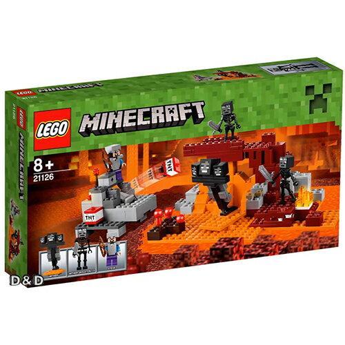 樂高積木 LEGO《 LT21126 》Minecraft Micro World 系列 > The Winter