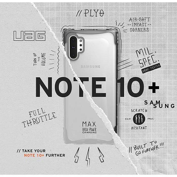 UAG 三星 Galaxy Note10 Note10+ PLYO 系列 耐衝擊 防摔 透明 美國 軍規 保護殼 手機殼