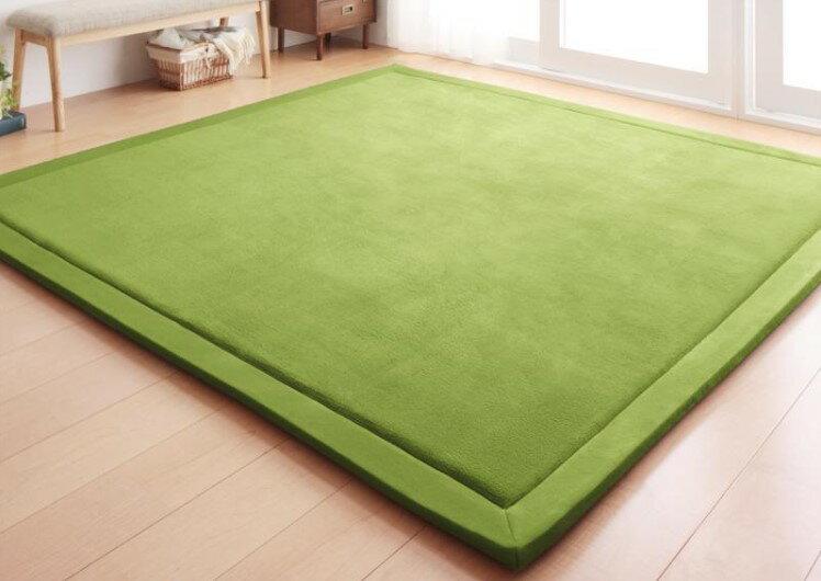 出口日本等級 日本原單 130*190CM 高級纖細珊瑚絨地毯 /  爬行墊 /  遊戲墊 /  榻榻米墊 /  運動墊 /  瑜珈墊 /  地墊 (如需其他尺寸也能訂做) 7