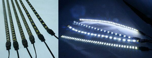 30cm2835燈珠雙排72燈12v可串聯12v燈條高亮度燈珠