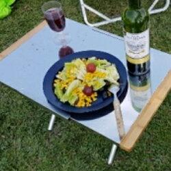 美麗大街【106040602】露營 摺疊 便攜 輕巧摺疊桌(一入不含收納袋)
