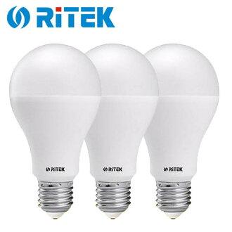 【3入】RiTEK 錸德 10W LED燈泡 白光【三井3C】