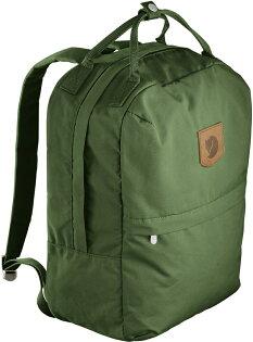 Fjallraven小狐狸休閒後背包筆電背包登山健行旅遊GreenlandZipLarge23L23153618蕨綠
