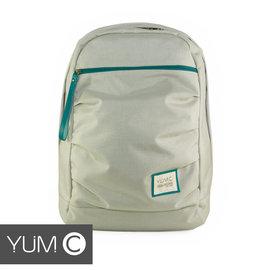 【美國Y.U.M.C. Haight城市系列Day Backpack經典筆電後背包 銀灰色】筆電包 可容納15.6寸筆電 【風雅小舖】 - 限時優惠好康折扣