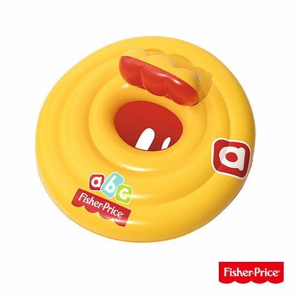 【Fisher-Price費雪】嬰兒游泳充氣座圈(69-25814)