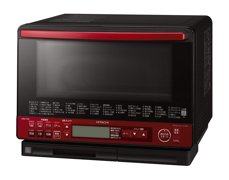 全新日本公司貨  HITACHI 日立 MRO-TS8 水波爐 過熱水蒸氣微波爐烤箱 31L 三重重量感應 易清潔 水蒸 過熱 水蒸氣 日本必買代購