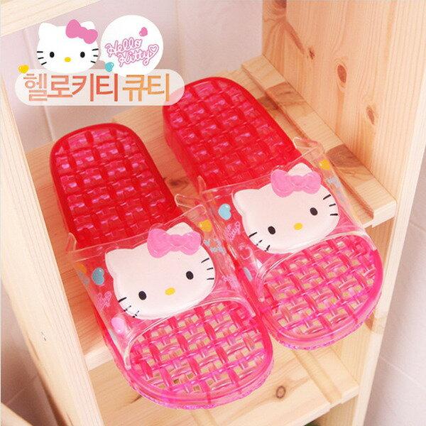 X射線【C087274】Hello Kitty浴室拖鞋(26cm),兒童拖鞋/室內拖鞋/舒適拖鞋/休閒拖鞋/生活居家