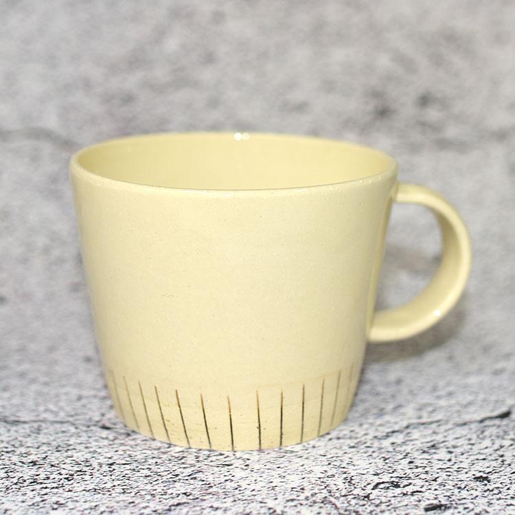削白 手工質感陶瓷馬克杯 有田燒 日本製造 300ml