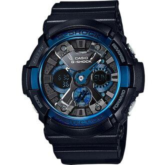 CASIO G-SHOCK GA-200CB-1A極地洋冰流行時尚腕錶/52mm