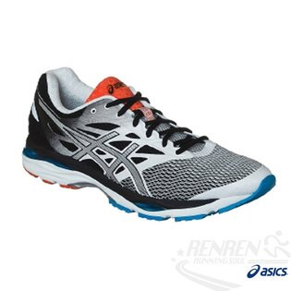 ASICS亞瑟士男慢跑鞋(黑*白)GEL-CUMULUS18(4E)