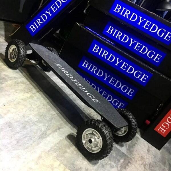 BIRDYEDGE電動滑板戰士越野最高時速40-45KM越野大輪胎續航里程:30-35KM【迪特軍】