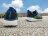 [最後一雙:18cm]《下殺5折》Shoestw【97378LBKBL】SKECHERS 中童鞋 運動鞋 記憶鞋墊 黑灰藍綠 襪套 黏帶 2