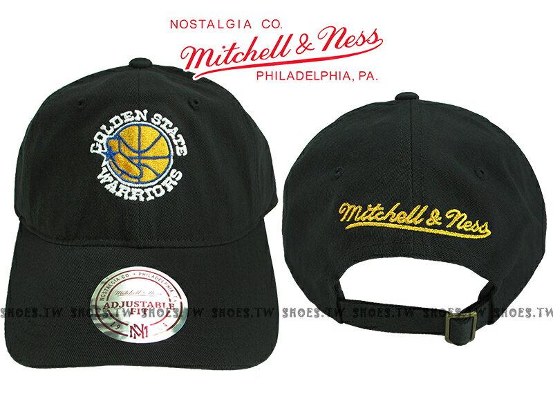 《下殺6折》Shoestw【5056036186930】Mitchell&Ness 老帽 NBA勇士隊 黑 Golden State 0