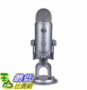 [106美國直購] Blue Microphones Space Gray 太空灰 專業型電容式 Blue Yeti USB Microphone 麥克風