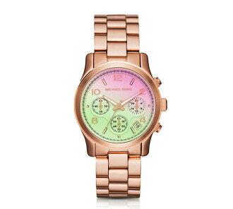 【MICHAEL KORS】正品 優雅時尚玫瑰金不銹鋼錶帶石英錶 MK6179【全店滿4500領券最高現折588】