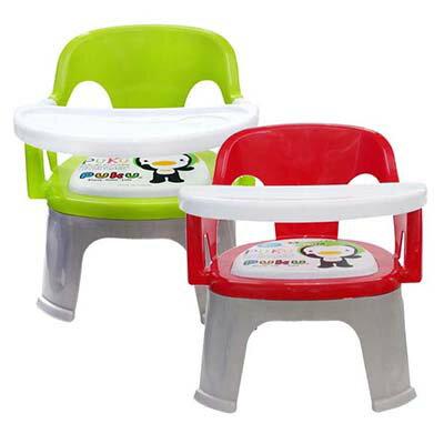 Puku 藍色企鵝 Crocodile小鱷魚餐盤BB椅-紅 / 綠【悅兒園婦幼生活館】 - 限時優惠好康折扣