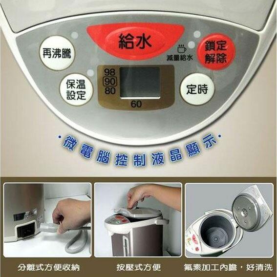 ★象印ZOJIRUSHI★ 4L微電腦電動熱水瓶 (CD-WBF40) 1