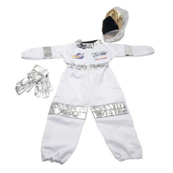 【免運費】《 萬聖節服裝 》美國 Melissa & Doug- 角色服裝 - 太空人服