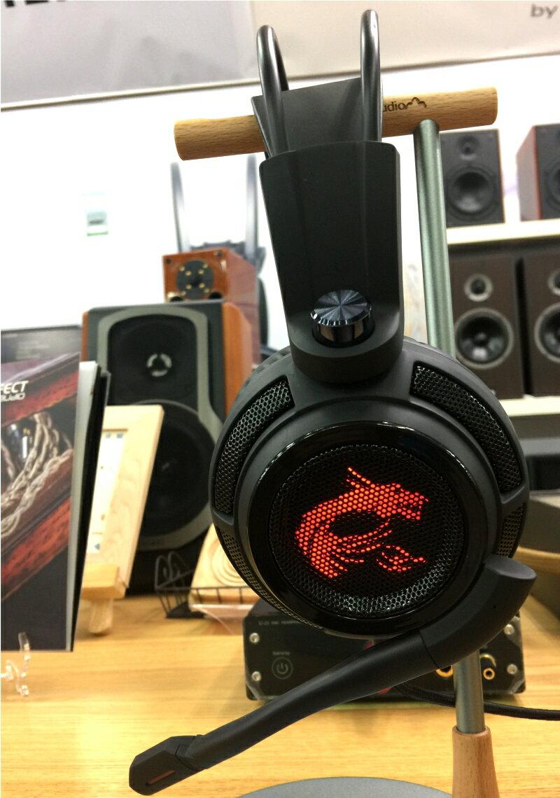 ☆宏華資訊廣場☆MSI微星DS502 職業級震動電競耳機