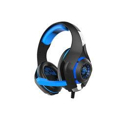 耳機 廣寰 kworld-頭戴式電競耳麥藍光 藍光 電競周邊 耳麥 麥克風 耳機 K2000BB