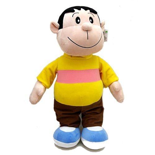 【真愛日本】17032100005 全身-20吋胖虎 多拉A夢 小叮噹 胖虎 玩偶 公仔 抱枕 娃娃 玩具