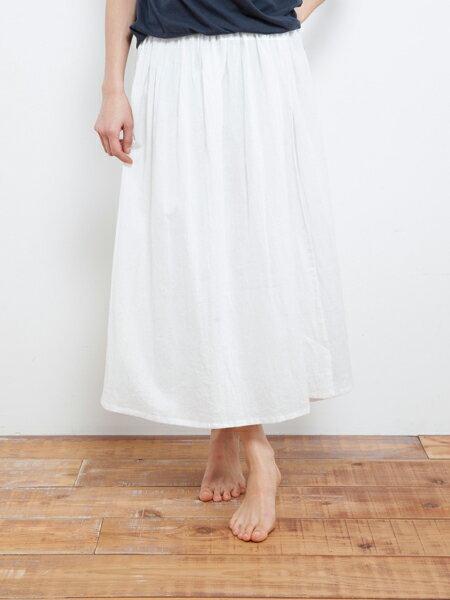 【Bali】亞麻布簡約長裙 瑜珈褲 1