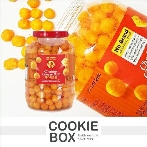 韓國 No Brand 巧達乳酪 起司球 桶裝 370g 起司 乳酪球 乳酪 零食 餅乾 禮盒 *餅乾盒子*