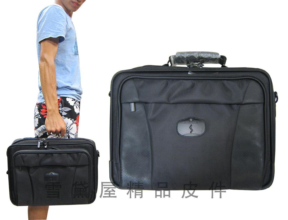 ^~雪黛屋^~SUMDEX 電腦公事包中小容量美國專櫃 工具箱樣品硬式高單數防彈防水尼龍布