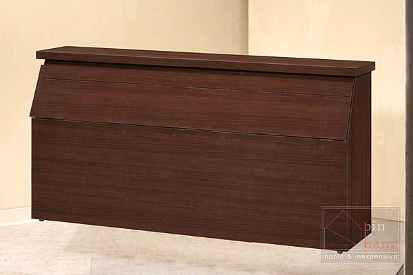 【尚品家具】CF-615 胡桃 5 尺 床頭箱