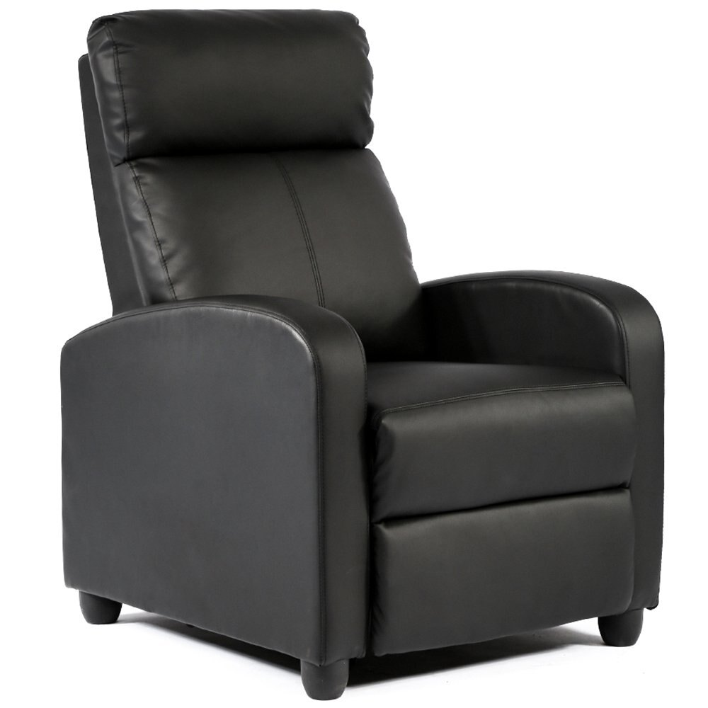 Recliner Accent Club Chair Single Sofa Couch With Footrest