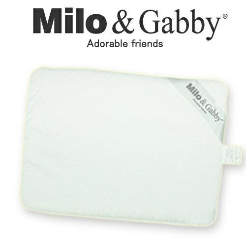 美國【Milo & Gabby】 動物好朋友-超涼感排汗抗菌黑米枕+枕套組 1