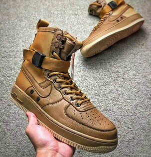 NikeSpecialForcesAirForce1卡其棕情侶款