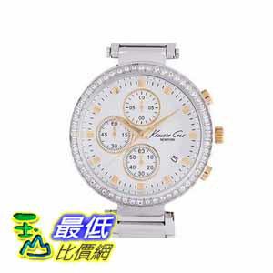 [COSCO代購如果沒搶到鄭重道歉] Kenneth Cole New York 系列不鏽鋼石英計時女錶 W893392