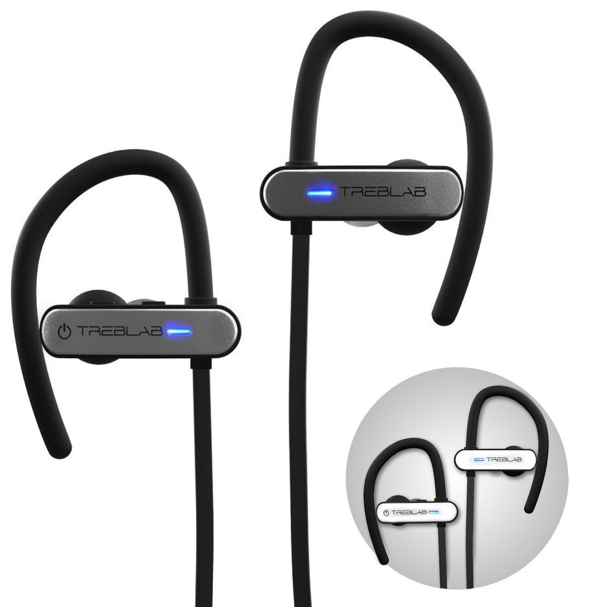b1cb6ef4dc1 TREBLAB XR800 Bluetooth Headphones, Best Wireless Earbuds For Sports,  Running Or Gym Workouts.
