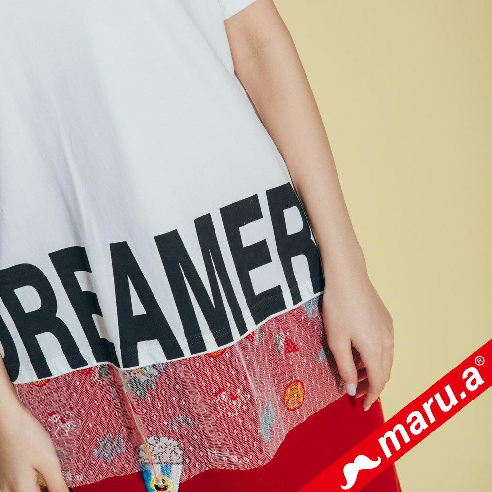 【maru.a】dreamer印花上衣 8311316 5