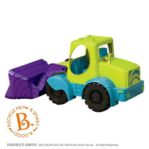 《美國B.toys感統玩具》大力士推土機