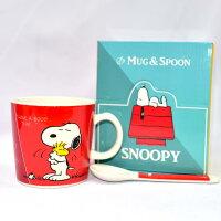 史努比Snoopy商品推薦,史努比馬克杯推薦到SNOOPY 史努比 湯匙 馬克杯 磁器 日本正版