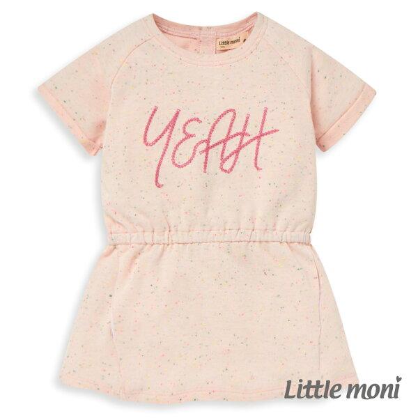 Littlemoni歡樂YEAH長版上衣-粉紅